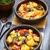 puchar · ziemniaczanej · pomidorów · ketchup · posiłek · fast · food - zdjęcia stock © ildi