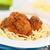 spaghetti · salsa · di · pomodoro · polpette · alimentare · ristorante · carne - foto d'archivio © ildi