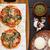 vegetáriánus · lasagna · paradicsom · padlizsán · sajt · mártás - stock fotó © ildi