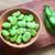 friss · zöldbab · fából · készült · tál · étel · csoport - stock fotó © ildi