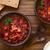 repolho · bacon · sopa · rústico · pão - foto stock © ildi