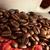grãos · de · café · copo · pano · amor · coração - foto stock © ildi