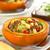 stuffed baked pumpkin stock photo © ildi