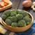ブロッコリー · ロクフォール · 皿 · 卵 · チーズ · ディナー - ストックフォト © ildi