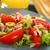 tonhal · paradicsom · olajbogyó · saláta · friss · zöld - stock fotó © ildi