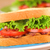 blt · sandwich · fraîches · maison · lard · laitue - photo stock © ildi