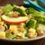 vers · gemengd · salade · kaas · geserveerd - stockfoto © ildi
