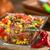 fasulye · mısır · salata · çili · üç · lezzetli - stok fotoğraf © ildi