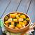 サラダ · 木製 · ボウル · 暗い · 垂直 · 背景 - ストックフォト © ildi