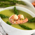 Cream of Asparagus with Shrimp stock photo © ildi