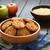appel · cookies · plaat · chocolade · Maakt · een · reservekopie - stockfoto © ildi