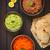 pão · vegetal · tiro · fatias - foto stock © ildi