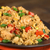 fried rice with vegetables chicken and egg stock photo © ildi