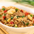 fried rice with vegetables chicken and eggs stock photo © ildi