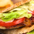 blt · pita · sandwich · fraîches · maison · lard - photo stock © ildi