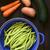 brócolis · cenoura · tiro · vagens - foto stock © ildi