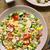 pirinç · salata · domates · salatalık · arka · plan - stok fotoğraf © ildi