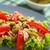 atum · tomates · oliva · salada · fresco · verde - foto stock © ildi