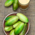 yarım · tohumları · düşen · dışarı · meyve · kırmızı - stok fotoğraf © ildi