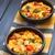 sarriette · végétarien · pain · pouding · courgettes - photo stock © ildi