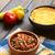 блюдо · Сальса · ложку · продовольствие · нефть - Сток-фото © ildi