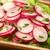 branco · rabanete · salada · escuro · Óleo · preto - foto stock © ildi