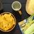 maíz · tortilla · chips · cena · frescos · especias - foto stock © ildi