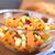 batata · manzana · ensalada · vidrio · tazón · frescos - foto stock © ildi