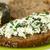 хлеб · Сыр · из · козьего · молока · ломтик · травы - Сток-фото © ildi