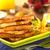 français · Toast · déjeuner · fraîches · baies · érable - photo stock © ildi