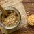 egész · gabona · mustár · üveg · bögre · fa - stock fotó © ildi