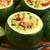 baked stuffed round zucchini stock photo © ildi