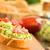 fatias · fresco · cebola · de · volta · textura · comida - foto stock © ildi
