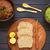 vegetal · rústico · tigela · caseiro · abobrinha · salsa - foto stock © ildi