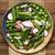 groene · asperges · radijs · salade · vers · geserveerd - stockfoto © ildi