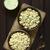 cooked tortellini with parsley cream sauce stock photo © ildi