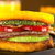 Burger · frit · courgettes · lard · boeuf · tomate - photo stock © ildi