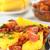 polenta slices with hogao stock photo © ildi