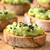 sándwich · verde · patatas · pan · brindis · desayuno - foto stock © ildi