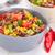 feijão · milho · salada · pimenta · três · delicioso - foto stock © ildi
