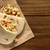 gevuld · pita · sandwich · tonijn · sla · peper - stockfoto © ildi