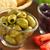 verde · azeitonas · outro · salada · ingredientes · fresco - foto stock © ildi