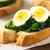 főtt · tojások · konyhaasztal · étel · természet · tojás - stock fotó © ildi