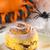 pumpkin cinnamon roll stock photo © ildi