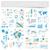 mappa · del · mondo · informazioni · grafica · elementi · design · segno - foto d'archivio © ildogesto