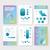 ビジネス · パンフレット · テンプレート · インフォグラフィック · デザインテンプレート - ストックフォト © ildogesto