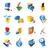 Symbole · Technologie · Computer · Schnittstelle · Karte · Design - stock foto © ildogesto
