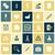 flat design icons for medical science stock photo © ildogesto