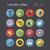 iconen · recreatie · vector · eps10 · objecten · doorzichtigheid - stockfoto © ildogesto
