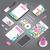 entreprise · identité · imprimer · modèle · papeterie · objets - photo stock © ildogesto